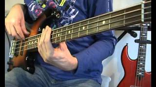 Modjo - Lady ( Hear Me Tonight) Bass Cover