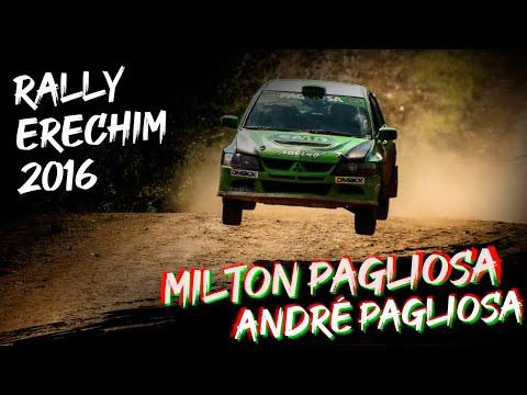 2016 - Rally Erechim - Milton Pagliosa e André Pagliosa