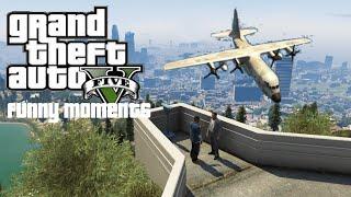 GTA 5 Online Funny Moments (Titan, Planes, Dump Truck, Adventure, Glitch)
