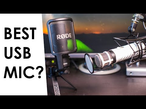 Best USB Mic for YouTube — Rode Podcaster Vs. Rode NT-USB Microphone