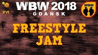Freestyle Jam: Wueno, Skopek, Yowee, Wawrzyn, Pukuś, Sowa Zer # WBW 2018 Gdańsk