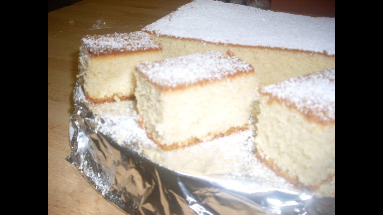 Japanese Sponge Cake Castella