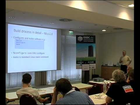 OSDC 2013 | Andrew Ford: Software Packaging with RPM Demystified