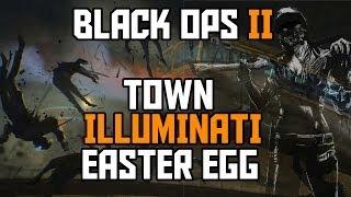 Black Ops 2 Zombies NEW Town Illuminati EASTER EGG Tutorial (Comedic) thumbnail
