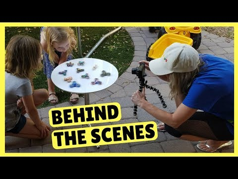 Thumbnail: Metallic Fidget Spinners ~ Behind the Scenes ~ DreamWorks Trollhunters Tales of Arcadia Toys!
