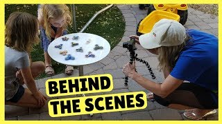 Metallic Fidget Spinners ~ Behind the Scenes ~ DreamWorks Trollhunters Tales of Arcadia Toys!