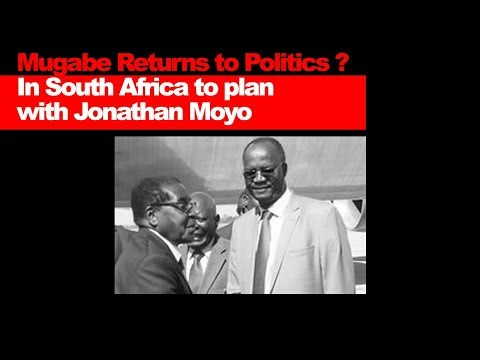Mugabe Returns to Politics ? In SA to plan  with Jonathan Moyo, Zim Latest Breaking News Today