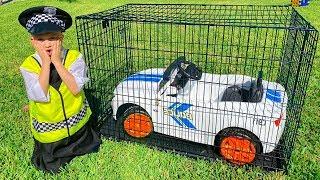 Vlad pretende jugar a la policía y perder su auto