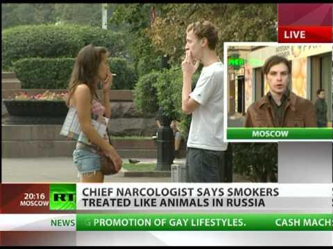 'Russia treats smokers like animals' -- doctor