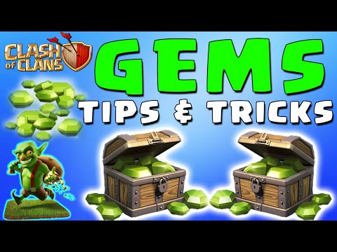 Clash of Clans Gems - How To Get More Gems, Free Gems, Gems Tips & Tricks (CoC Gems)