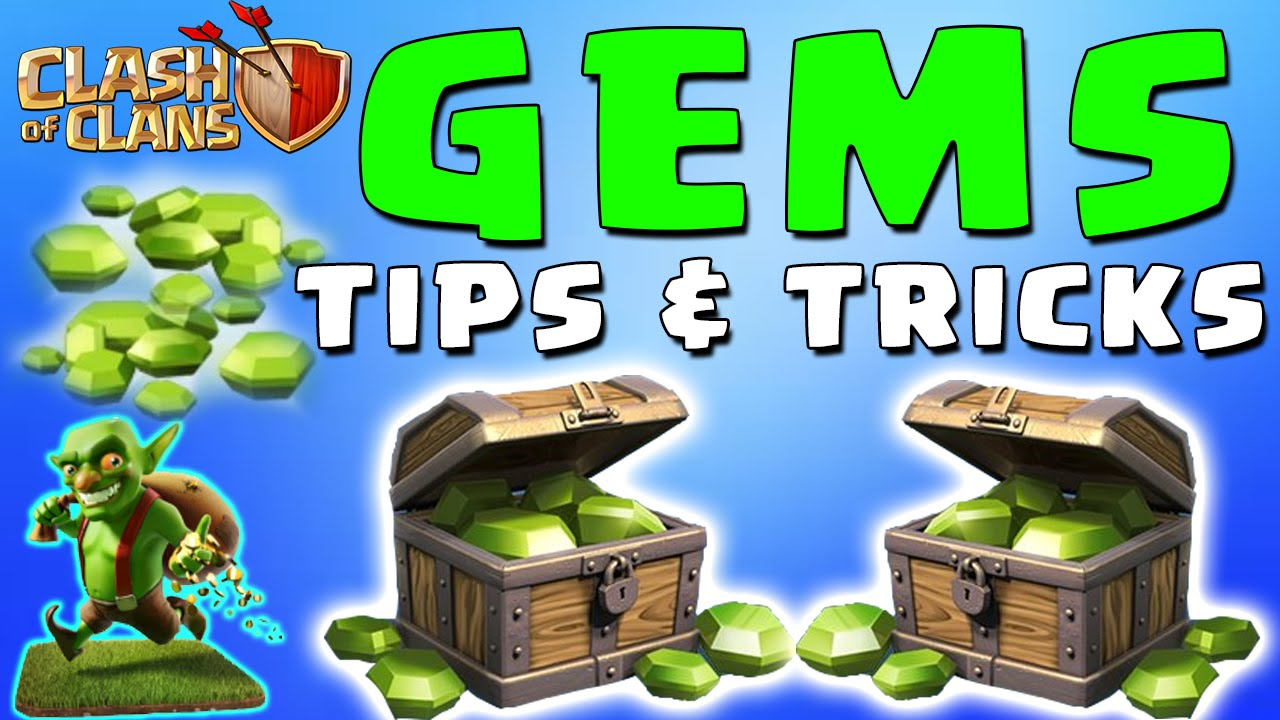 how to send gems in clash of clans