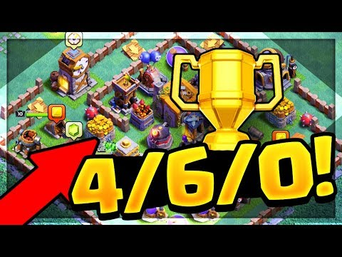 THIS BASE CAN'T BE BEATEN in Clash of Clans Builder Hall / Night Mode!