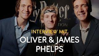 James Oliver Phelps Unser Interview Mit Den Weasley Zwillingen Aus Harry Potter Youtube