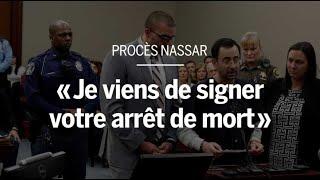 « Je viens de signer votre arrêt de mort » : retour en images sur le procès de Larry Nassar