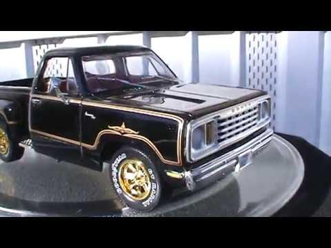 1:18 Scale 1978 Dodge Warlock by Ertl (American Muscle)