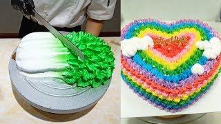 Satisfying Cake Decorating Videos So Yummy  Easy Cakes Recipes Tutorials #48