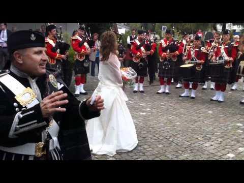 Hochzeit Christoph-Fränzi 2011 - Schotte Clique Basel