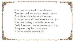 Cristian Castro - Como Dos Tontos Lyrics