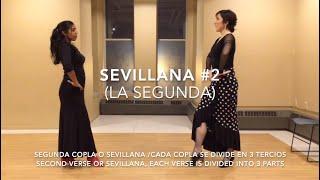 Sevillanas tutorial #2 (la segunda)