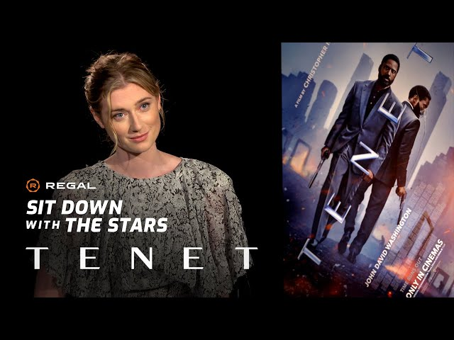 Sit Down With Elizabeth Debicki on Tenet – Regal Theatres HD