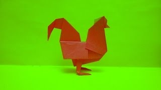 Оригами петух (Yukihiko Matsuno)