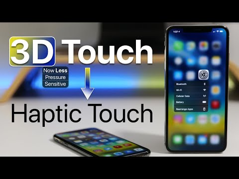3D Touch is Mostly Haptic Touch with iOS 13