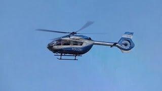 Heli H145 – Neuer Polizeihubschrauber der POLIZEI-NRW-Fliegerstaffel startet und landet