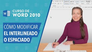 Word 2010: Espaciado de texto