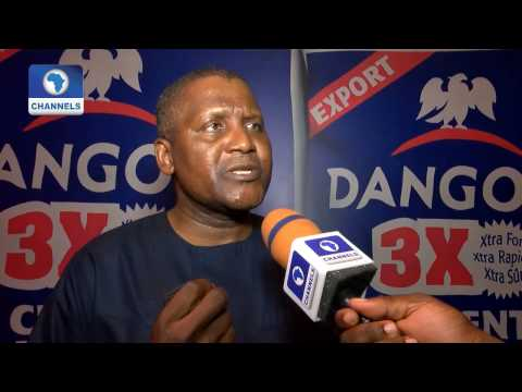 Metrofile: Dangote Cement Holds Dealers' Award And Gala Night