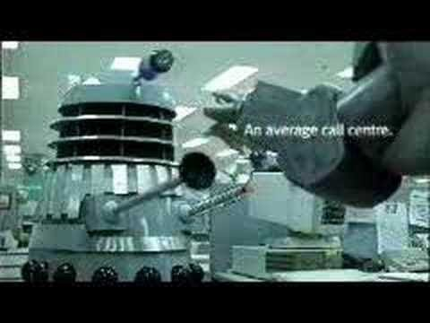 Dalek advert apperance 2 (ANZ Bank)