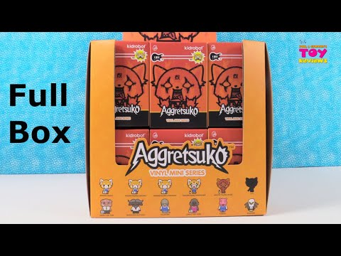 Aggretsuko Vinyl Mini Series Kidrobot Blind Box Figure Opening | PSToyReviews