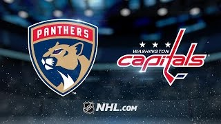 Reimer shuts out Caps to lead Panthers to 2-0 win