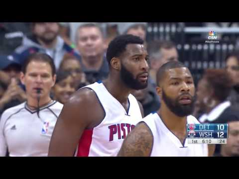 NBA 2016/17 : Detroit Pistons vs Washington Wizards - Dec 16, 2016