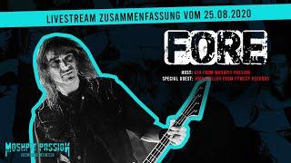 Speesy von Fore/ex-Kreator im Livestream mit Jörg Müller von FTWCTP Records