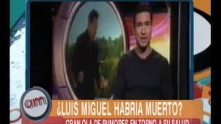 Luis Miguel y las sospechas sobre su muerte - AM