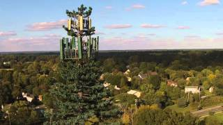 Drone flyby mystery Charlotte cell tower rt 485