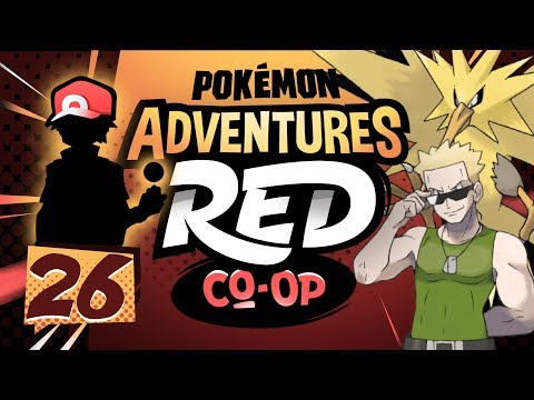 """EXPLOSION CANNON"" Pokémon Adventures Red Co-op Ep 26 w/ TheKingNappy + JoeyPokeaim!"