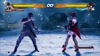 Tekken 7 Noctis d/b+1+2 Combos | PS4