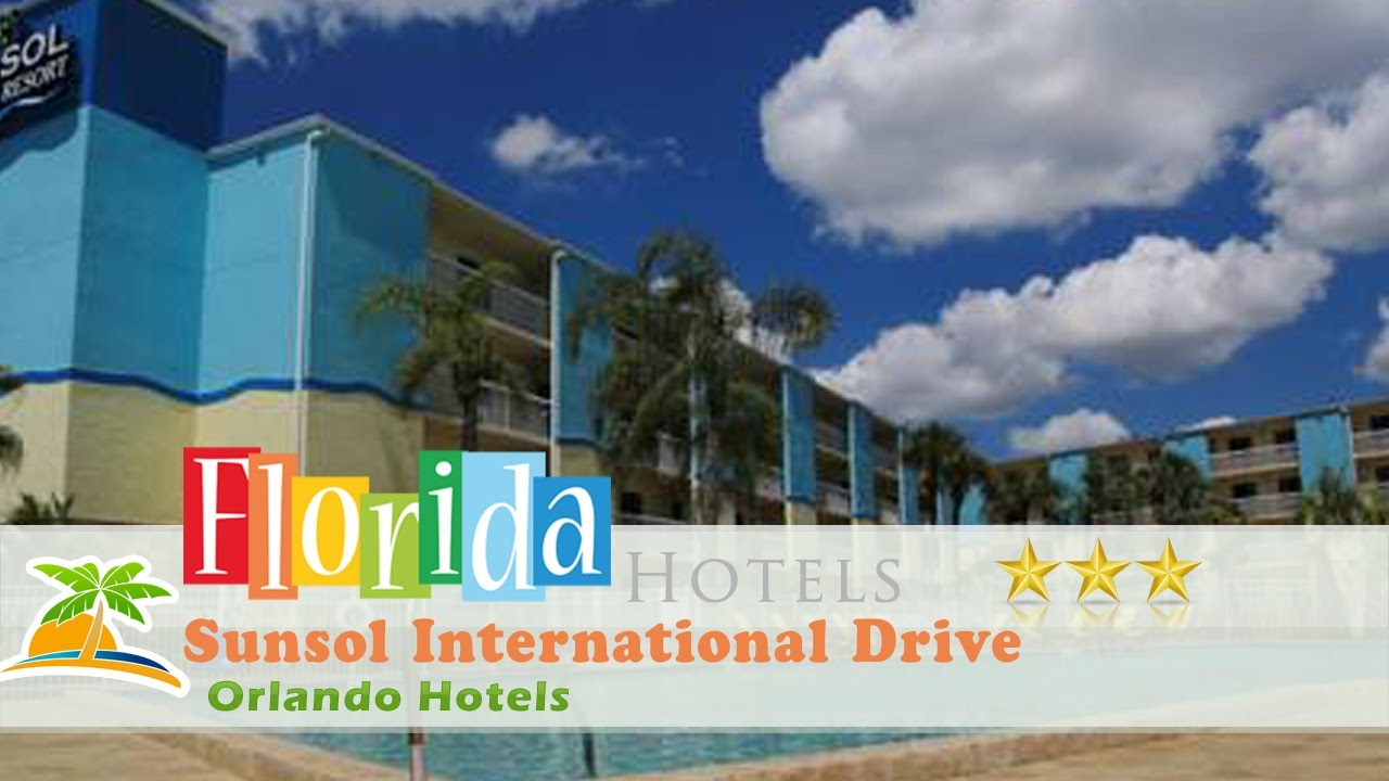 Sunsol international drive orlando hotels florida