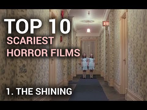 01. The Shining (Scariest Horror Films Top 10)