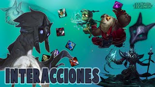 Kindred | Interacciones a campeones y objetos [League of Legends]