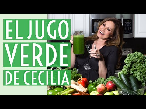 El Jugo Verde Detox de Cecilia