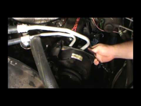 1985 Chevy C30 A/C Compressor  Hose Install - YouTube