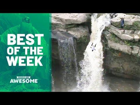 Cliff Diving, Multi-tasking Hula Hoopers & More | Best of the Week