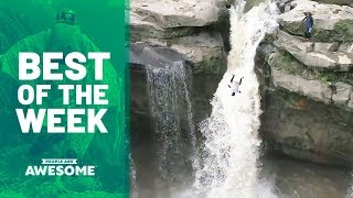 Cliff Diving, Multi-tasking Hula Hoopers & More | Best of the Week