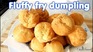 Jamaican Fluffy Fry Dumpling | Recipes By Chef Ricardo
