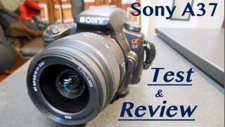 Sony Alpha A37: Review + Test