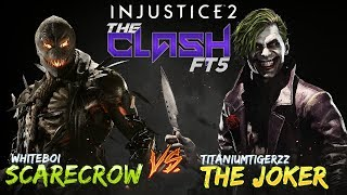 WhiteBoi (ScareCrow) Vs TitaniumTigerzz (Joker) EPIC! the CLash - I...
