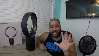 $300 Fan vs $10 Walmart Fan Dyson DESK FAN AM06 review