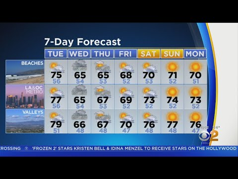 Danielle Gersh's Weather Forecast (Nov. 19)